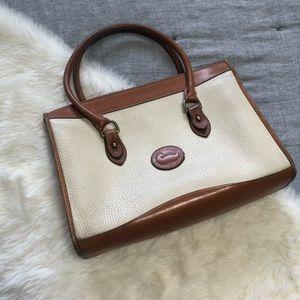 Dooney & Burke vintage awl cream purse no strap